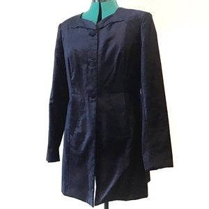 Cabi Entrance Coat in Midnight Blue Style #3489